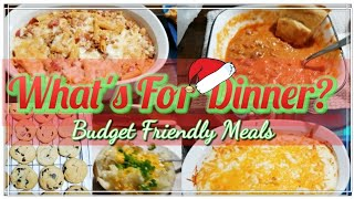 What's For Dinner | Easy Budget Friendly Meals |