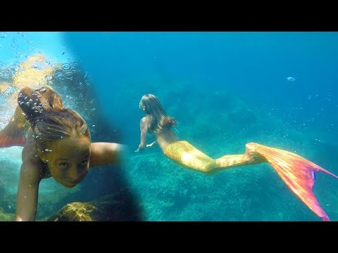 Carla Underwater - Mermaid swimming underwater