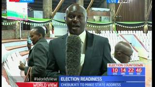 Election Readiness : IEBC to give state of preparedness ahead of the elections
