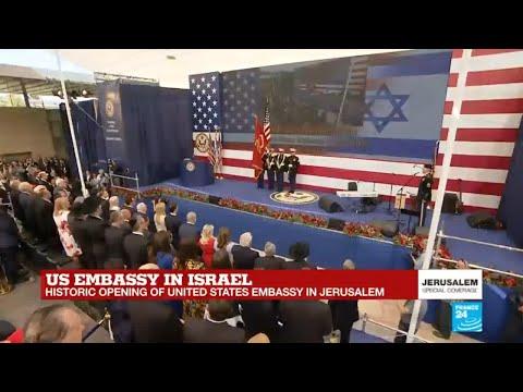 US embassy in Israel: The Star-Spangled Banner anthem resonates in Jerusalem