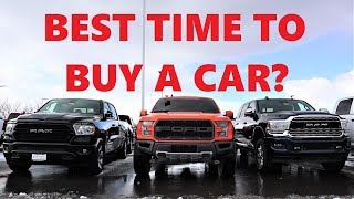 Ex-Car Salesman Reveals The Best Time Of The Year To Buy A Car!