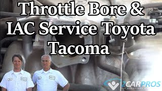Throttle Bore & IAC Service Toyota Tacoma