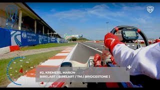 On board Marijn Kremers World Championship 2019 South Garda Karting