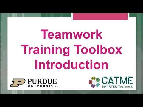 Teamwork Training Toolbox Introduction - YouTube
