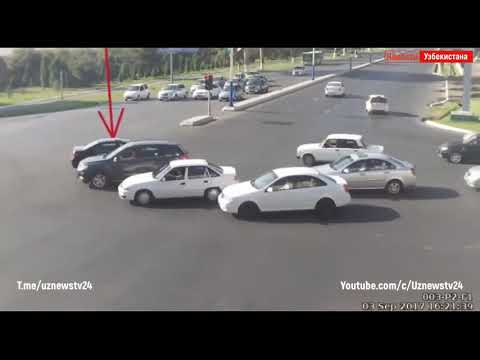 Самые страшные аварии в Ташкенте