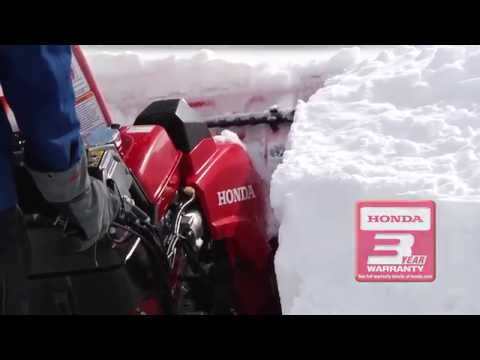 Honda Power Equipment HSS928ATD in Manitowoc, Wisconsin - Video 1