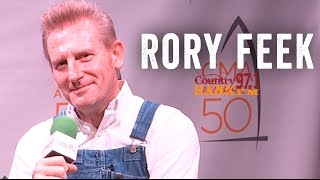 Rory Feek (Joey + Rory) - Talks Joey and Nomination
