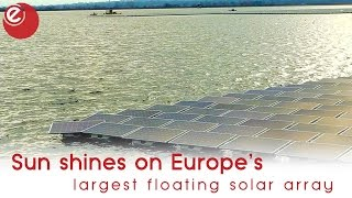 Europe's largest floating solar array in Greater London