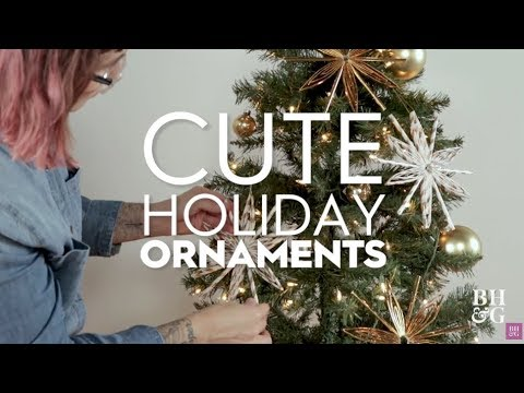 Cute Holiday Ornaments | Made By Me | Better Homes & Gardens
