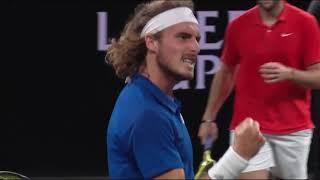 Nadal/Tsitsipas v Kyrgios/Sock | Laver Cup 2019 FULL MATCH 8 | 50 FPS HD