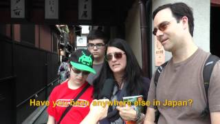 Travelers' Voice of Kyoto:GION Area Interview 006