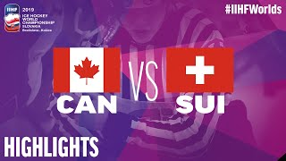 Canada Vs. Switzerland - Game Highlights