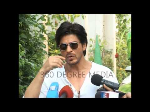 Shahrukh Khan talks about Mary Kom and other Indian Olympic Games 2012 team