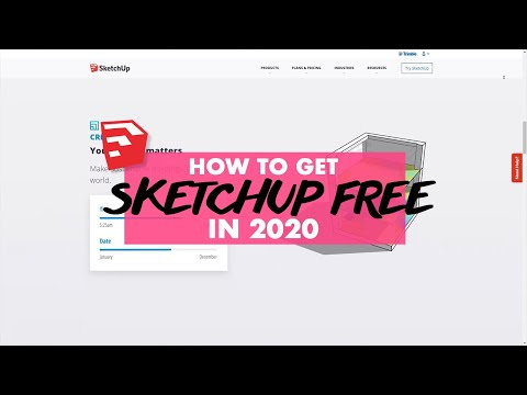 How To Get Sketchup Free in 2020