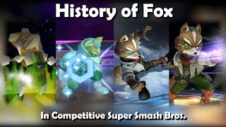 History of FOX in Competitive Super Smash Bros. (64, Melee, Brawl, Wii U)
