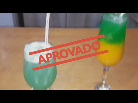 como fazer: BRASILEIRINHO E BLUE HAWAI  (drinks\coquetel) | Preto Na Cozinha|super fácil e rápido|#3