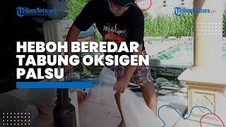 Viral Video Tabung Oksigen Palsu Gemparkan Tulungagung, Polda Jatim Langsung Tancap Gas