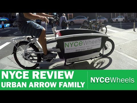 Urban Arrow Family – Electric Cargo Bike Review