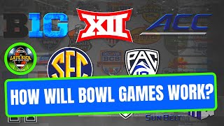How Will College Football Bowl Games Work? (Late Kick Cut)