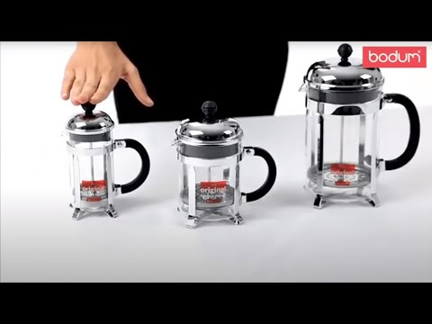 Bodum - Youtube video about the Chambord Coffee Maker