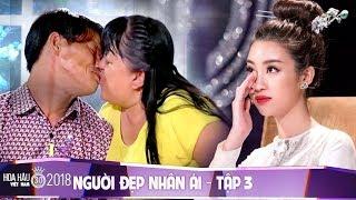 Hoa hậu Đỗ Mỹ Linh, Trấn Thành khóc nghẹn vì cặp đôi vợ chồng khuyết tật - Người Đẹp Nhân Ái Tập #3