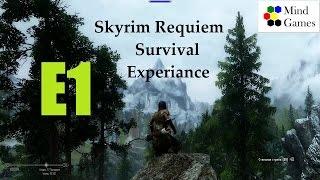 Skyrim Requiem Survival Experiance. Эпизод 1: Создание персонажа.