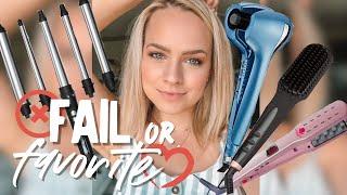 Testing Weird Hair Tools from PR - Kayley Melissa