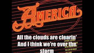 America - Daisy Jane (KARAOKE) With Lyrics