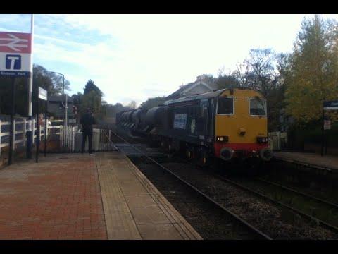 DRS 20302 & 20305 thrash past Kiveton Park with Sheffield RH…