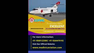 Book Medivic Aviation Air Ambulance Services in Lucknow