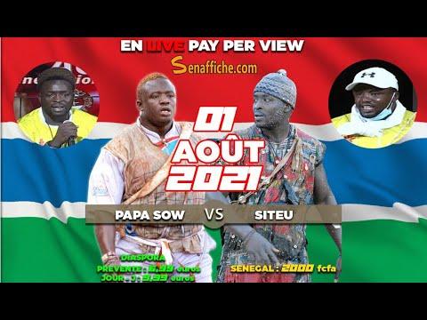 Siteu vs Papa Sow du 1er août 2021 : les Gambiens choisissent leur favori...