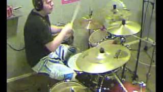 Dream Evil Lets Make Rock Drum cover