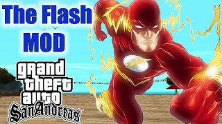 THE FLASH MOD - MOD SENSACIONAL - GTA SAN ANDREAS
