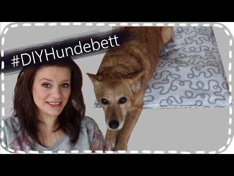 #DIYHundebett - Hundebett / Katzenbett selbstgemacht