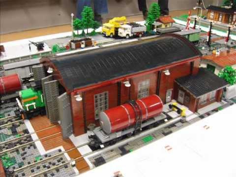 LEGO Fan Weekend Skærbæk Dänemark - Teil 2 City und Eisenbahn Modelle