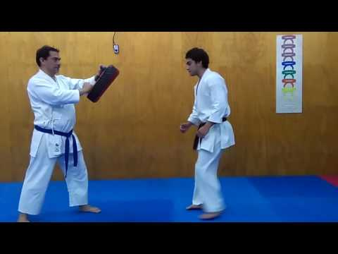 Mae  tobi geri/jump front kick tutorial