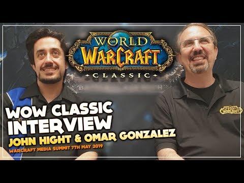 WowChakra WoW Classic Interview with John Hight & Omar Gonzalez | Warcraft Media Summit'19