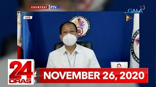 24 Oras Express: November 26, 2020 [HD]