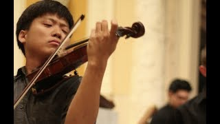 [NYCP] Bach - Violin Concerto No. 2 in E major (Siwoo Kim, violin)