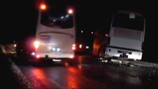 preview picture of video 'Afyonkarahisar'da zincirleme trafik kazası 1 ölü, 15 yaralı'