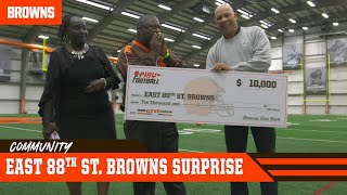 Surprising East 88th St. Browns w/ $10,000, New Helmets & Super Bowl Tickets