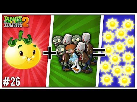 SLUNEČNÍ ... RAJČE?! (Plants vs Zombies 2) #26