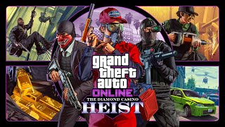 GTA Online: The Diamond Casino Heist Now Available & more (with Trailer)