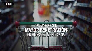 Las marcas con mayor penetración en hogares mexicanos