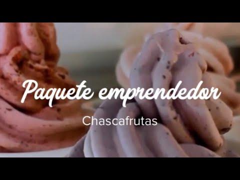 MÁQUINA DE HELADOS - PAQUETE DE JUNIO CHASCAFRUTAS