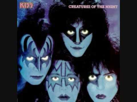 Kiss Creatures Of The Night (With Lyrics)