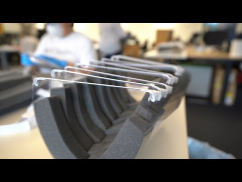 Cisco volunteers create thousands of face shields for medical workers