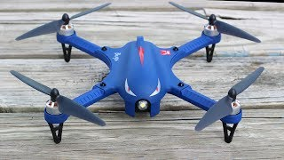 Our Favorite Brushless Drone Under $150 - MJX Bug 3 Blue Edition - TheRcSaylors