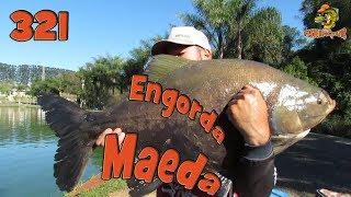 Programa Fishingtur na TV 321 - Pesqueiro Maeda Engorda