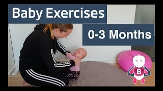 Baby Exercises and Activities #0-3 months - Assisted - Sit Up - Progression  - Baby Development